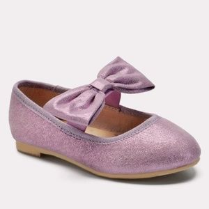 Toddler Girls Angeni Bow Ballet Flats